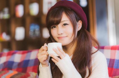 帽子deコーヒー